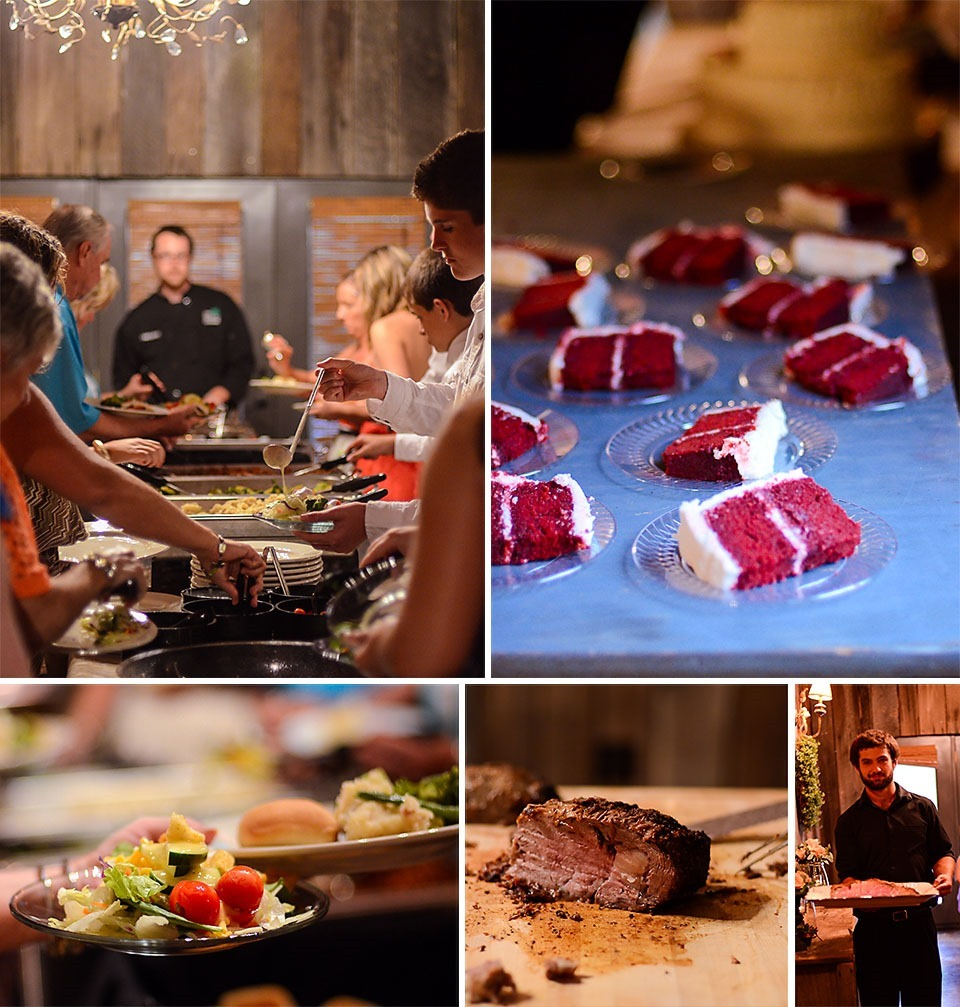 River plantaion event and catering the food