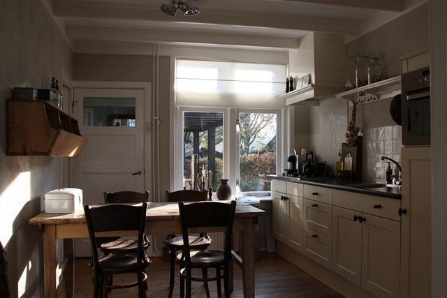Gezellige Kleine Keuken : De keuken staat dus nu in open verbinding met de woonkamer, maar is