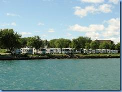 5092 Michigan - Sault Sainte Marie, MI -  St Marys River - Soo Locks Boat Tours - U.S. side Soo Locks Campground