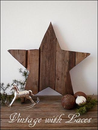 Scrap Wood Star