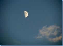 7412 Restoule Provincial Park - moon over Restoule Lake