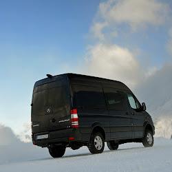 MercedesBenz Adds FourWheel Drive to the Sprinter Van 96 Photos
