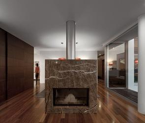 diseño interior Casa Aradas arquitectos RVDM