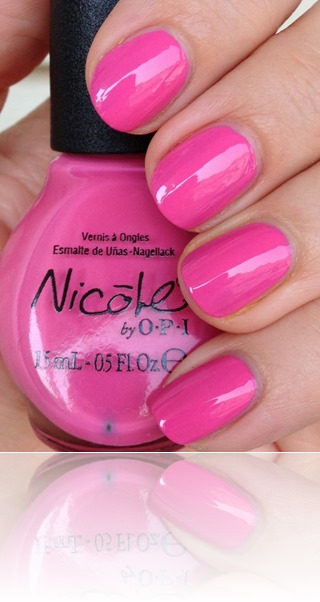 Nicole by OPI Tink's in the Pink