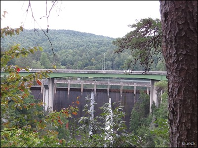 Talullah Falls dam