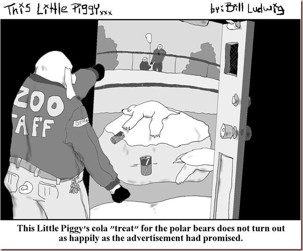Piggy Cola Bear