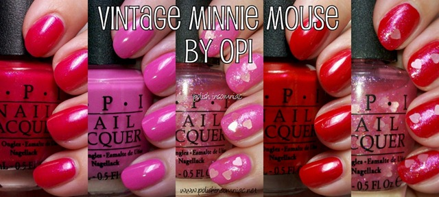 OPI Vintage Minnie Mouse by OPI collection