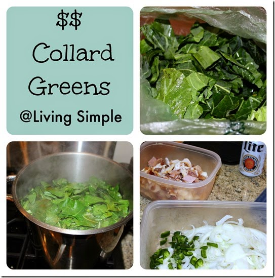 Collard Greens Collage