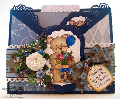Speedy Recovery Criss Cross Card