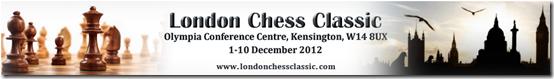 London Chess Classic 2012 banner