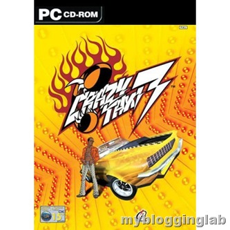Crazy Taxi 3 High Roller Cover PC Games Download