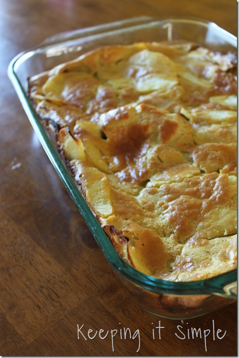 Apple German Pancakes (1)