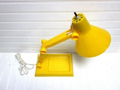a-justa-lamp, yellow