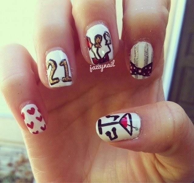 Q Riouser Q Riouser Nail Art: Wonderful Art On Nails: 3D Nail Art Collection