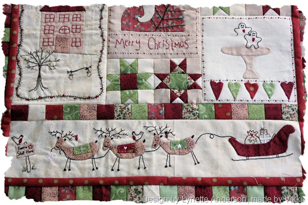 Christmas fun quilt top 2