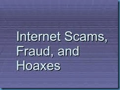 INTERNET SCAMS. 8