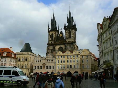 Obiective turistice Praga:  Biserica Sf. Maria din Tyn