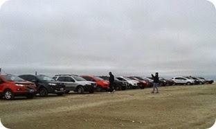 El Club Ford Eco Sport realizó una travesía por las playas de La Costa