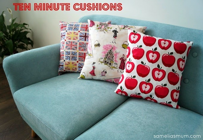 Ten Minute Cushion Tutorial