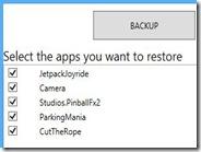 Backup e ripristino dei dati di tutte le applicazioni Windows 8 con un clic
