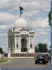 2701 Pennsylvania - Gettysburg, PA - Gettysburg National Military Park Auto Tour - Stop 12 Pennsylvania Memorial