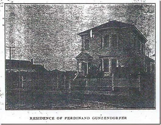 Residence of F Gunzendorfer