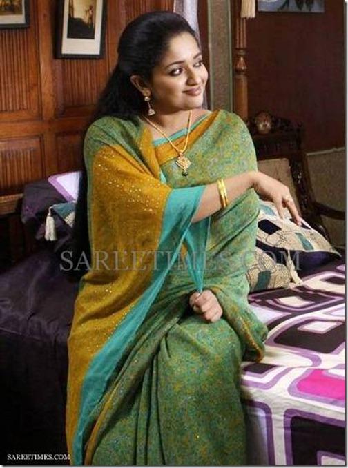 Kavya_Madhavan_Printed_Chiffon_Saree
