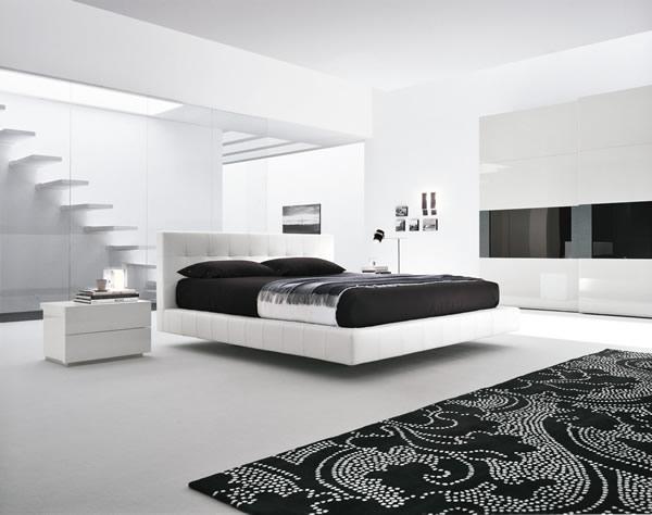 disegno idea » camere da letto moderne bianche e nere - idee ... - Camera Da Letto Nera E Bianca