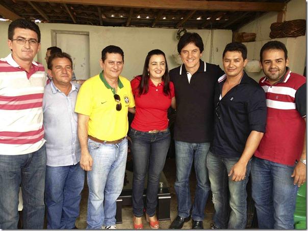 Equador.Robinson, Prefeita Noeide, esposo e ex.pref Zenon e vereadores