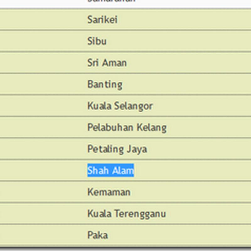 Catatan IPU terkini 2013 !