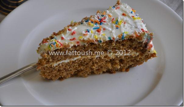 وصفة كعكة الجزر والأناناس by www.fattoush.me