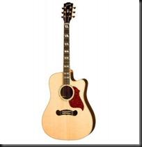 guitarra acustica golpeador cutaway