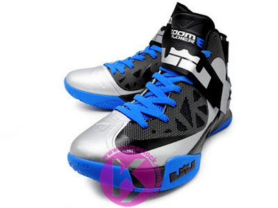nike zoom soldier 6 gr grey black blue 1 01 Upcoming Nike Zoom Soldier VI (6) Wolf Grey/Black Photo Blue