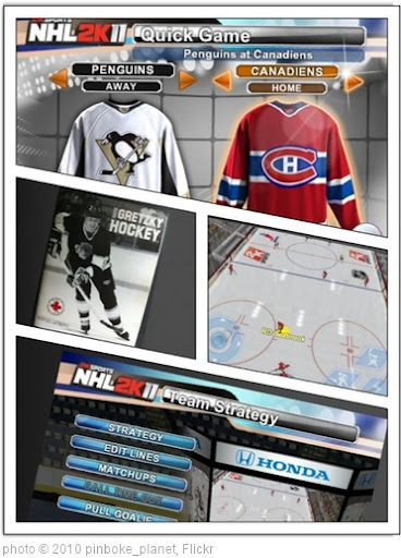 'Let's play NHL 2K11 for iPhone and iPod Touch' photo (c) 2010, pinboke_planet - license: http://creativecommons.org/licenses/by/2.0/