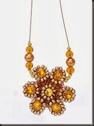 Línea Glamour - Collar Botón