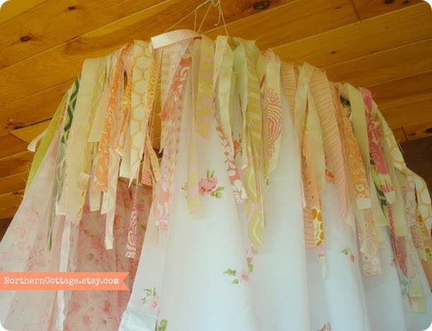 Scrappy Garland {NorthernCottage}
