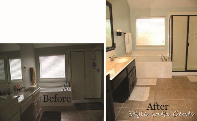 master bathroom oil rubbed bronze renovation before after2