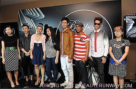 Jurong Point Bespoke Styling service stylists - Lionnel Lim, Jen Su, Vik Lim, Marcus AC Verna Tan