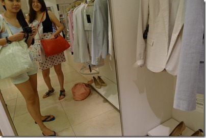 Zara red bag spotted!!