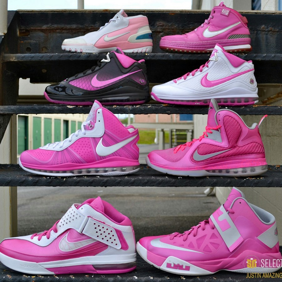 justin amazings nike lebron sneaker collection by sn