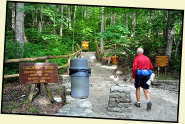02 - Original Trailhead - where many hikes begin