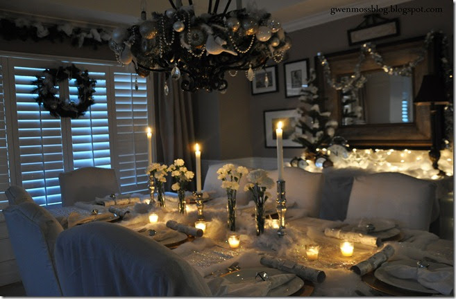 Gwen Moss My White Winter Wonderland Tablescape How To