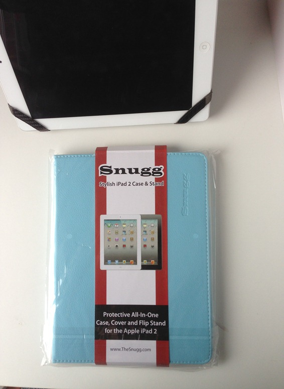 The Snugg iPad Cover - Aqua
