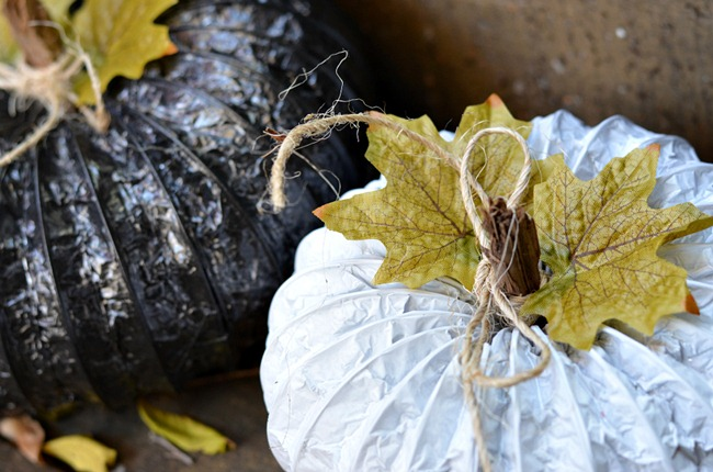 Dryer Vent Pumpkin Tutorial