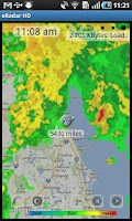 Screenshot of eRadar HD - NOAA Radar, Alerts