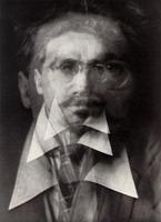 Alvin Langdon Coburn - Vortograph of Ezra Pound - (1911)