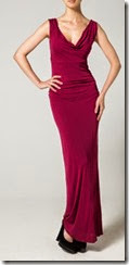 Bombshell Red Jersey Maxi Dress