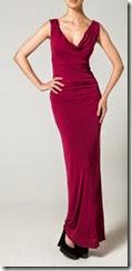 Bombshell Red Jersey Maxi Dress