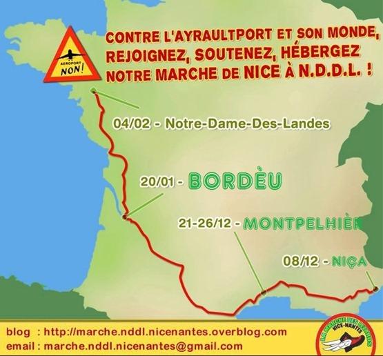 marcha contra layraultport en occitan