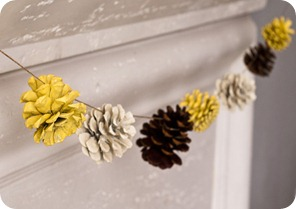 pine cone garland 2